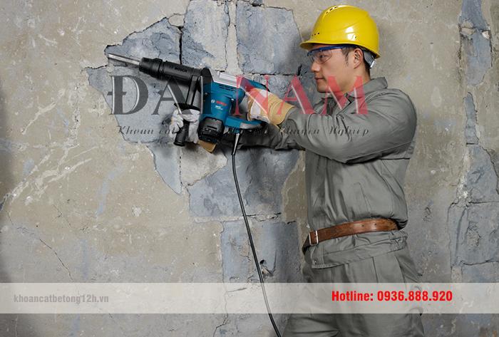 Những kỹ năng trong lĩnh vực khoan cắt bê tông